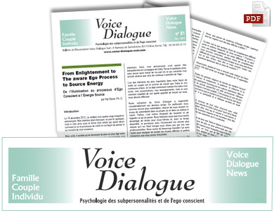 Voice Dialogue International Newsletter
